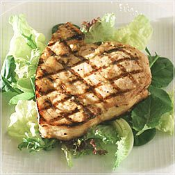 Marinated and Glazed Swordfish