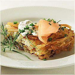 Crisp Potato Galette