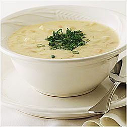 Hearty Potato & Cheddar with Bacon Soup