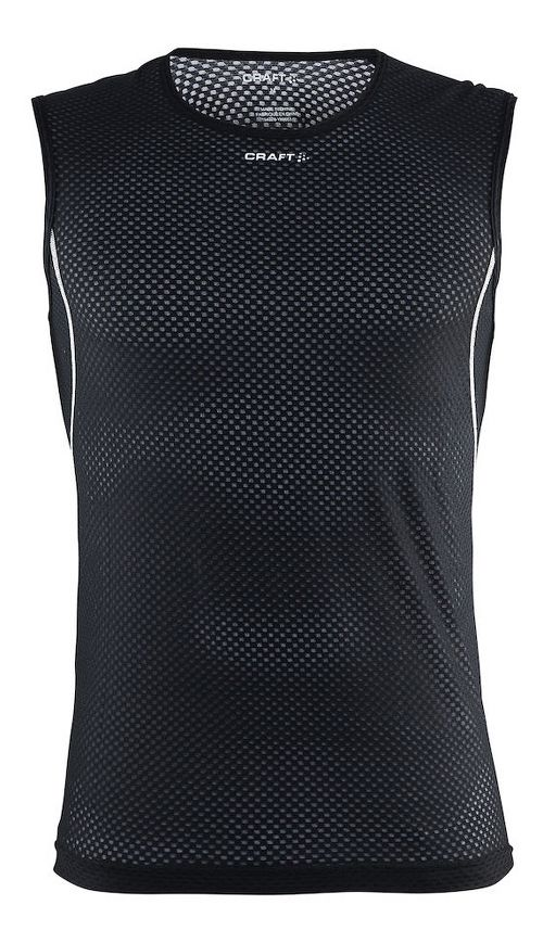 Mens Craft Cool Mesh Superlight Sleeveless & Tank Tops Technical Tops - Black/Platinum S