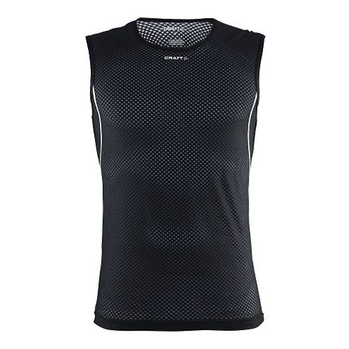 Mens Craft Cool Mesh Superlight Sleeveless & Tank Tops Technical Tops - Black/Platinum S