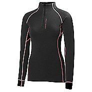 Womens Helly Hansen Warm Flow High Neck 1/2 Zip Long Sleeve Technical Tops