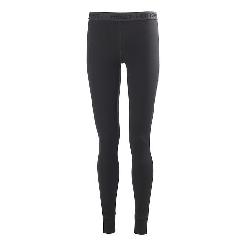 Womens Helly Hansen Active Flow Pant Full Length Tights - Ebony S-R