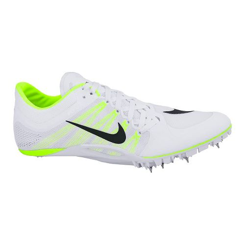 Nike Zoom JA Fly 2 Track and Field Shoe - White/Volt 8.5