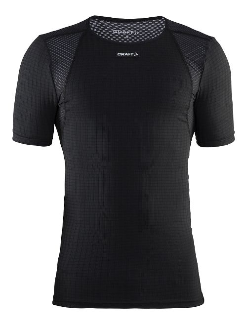 Mens Craft Active Extreme Concept Piece Short Sleeve Technical Tops - Black XXL
