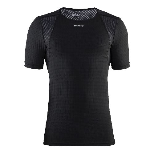 Mens Craft Active Extreme Concept Piece Short Sleeve Technical Tops - Black M