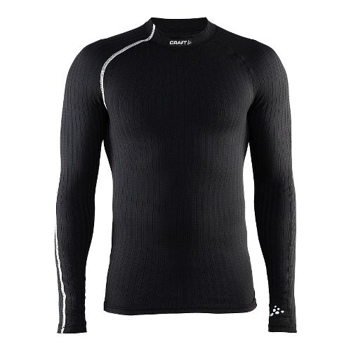 Mens Craft Active Extreme Crewneck Long Sleeve Technical Tops - Black/Platinum XXL
