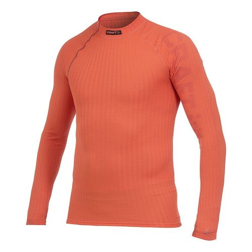 Mens Craft Active Extreme Crewneck Long Sleeve Technical Tops - Spice Magma S