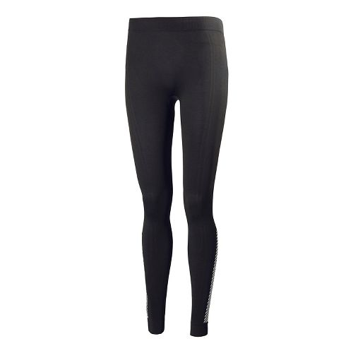 Womens Helly Hansen Dry Elite Pant Full Length Tights - Charcoal L-R