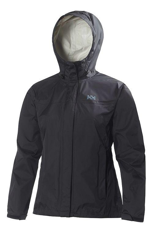 Womens Helly Hansen Loke Jacket Half-Zips & Hoodies Technical Tops - Black 4X