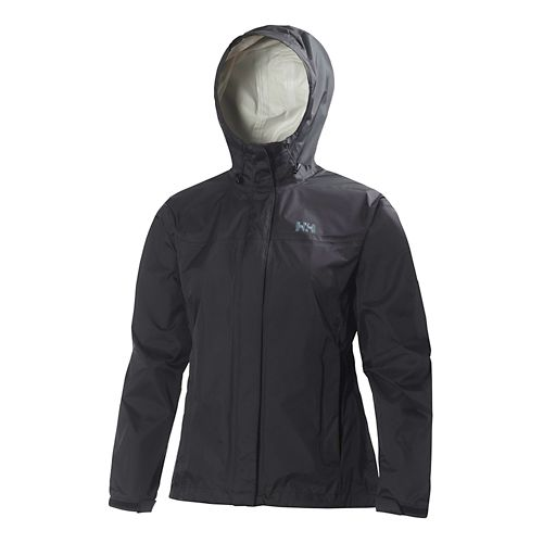 Womens Helly Hansen Loke Jacket Half-Zips & Hoodies Technical Tops - Black 3X