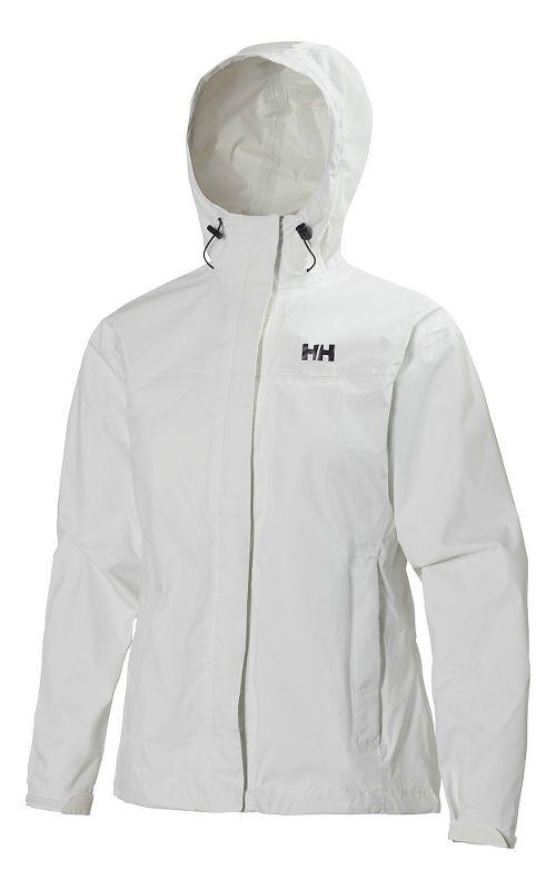 Womens Helly Hansen Loke Jacket Half-Zips & Hoodies Technical Tops - White XS