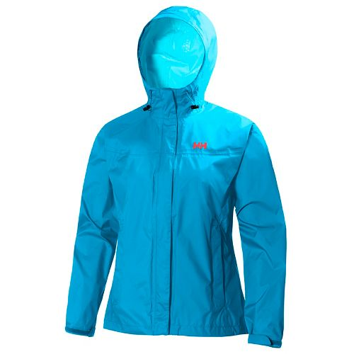 Womens Helly Hansen Loke Jacket Half-Zips & Hoodies Technical Tops - Winter Aqua M
