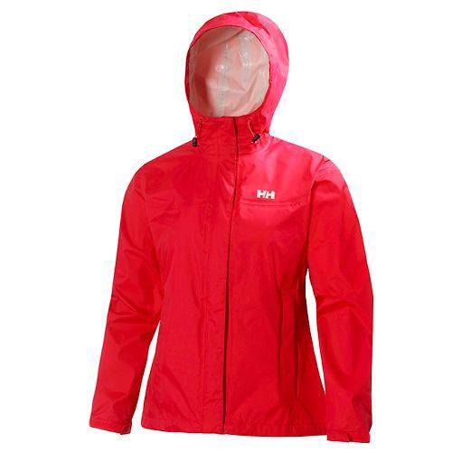 Womens Helly Hansen Loke Jacket Half-Zips & Hoodies Technical Tops - Meltdown M