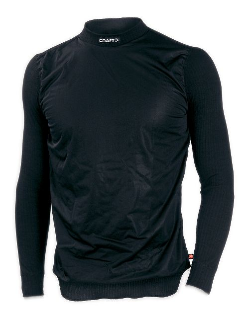 Mens Craft Active WS Crewneck Long Sleeve Technical Top - Black L