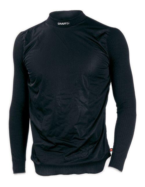 Mens Craft Active WS Crewneck Long Sleeve Technical Top - Black XL