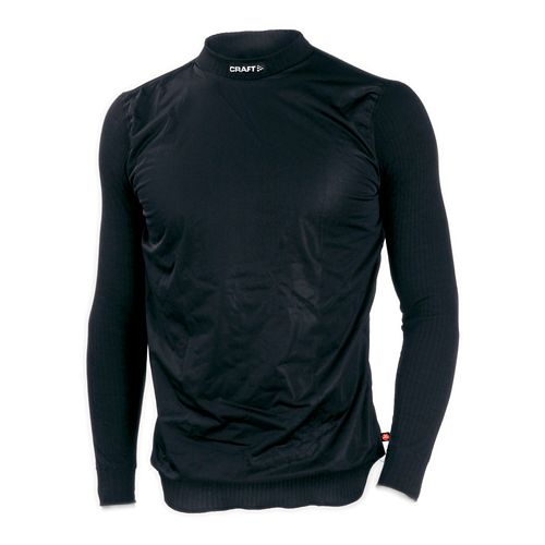 Mens Craft Active WS Crewneck Long Sleeve Technical Top - Black S