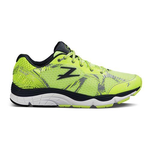 Mens Zoot Del Mar Running Shoe - High Viz/Pewter 9