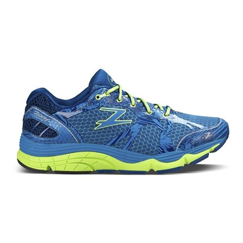Mens Zoot Del Mar Running Shoe - Blutonium/Green 7