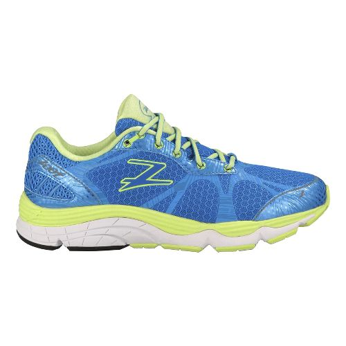 Womens Zoot Del Mar Running Shoe - Blue/Yellow 10
