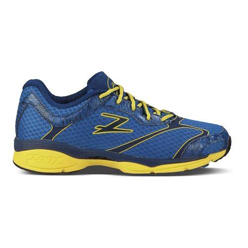 Mens Zoot Carlsbad Running Shoe - Blue/Yellow 7.5