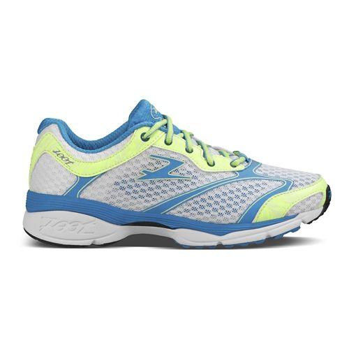 Womens Zoot Carlsbad Running Shoe - White/Maliblue 7.5