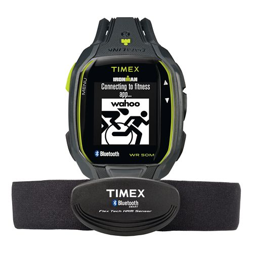 Timex Ironman Run x50+ HRM - Charcoal/Lime