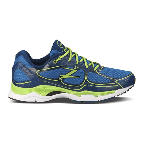 Mens Zoot Coronado Running Shoe - Blue/Green 8.5