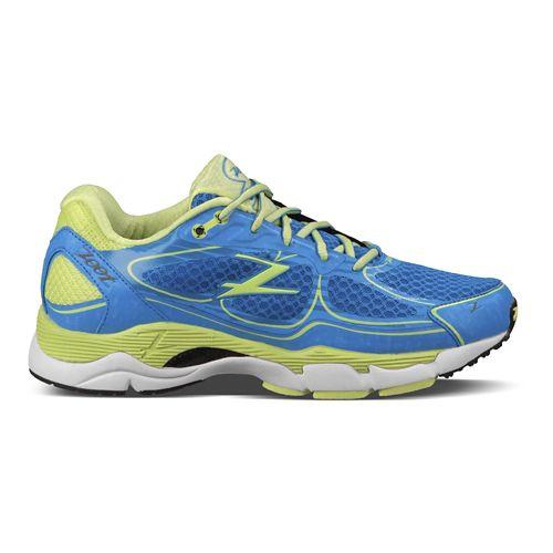 Womens Zoot Coronado Running Shoe - Blue/Green 6.5