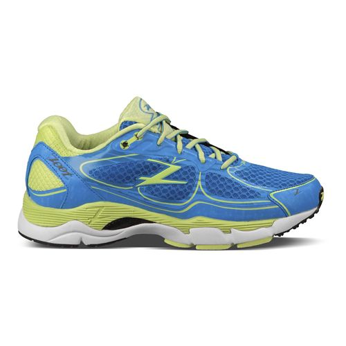 Womens Zoot Coronado Running Shoe - Blue/Green 7.5