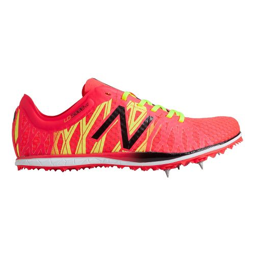 Womens New Balance LD5000v2 Track and Field Shoe - Bright Cherry/Black 10.5