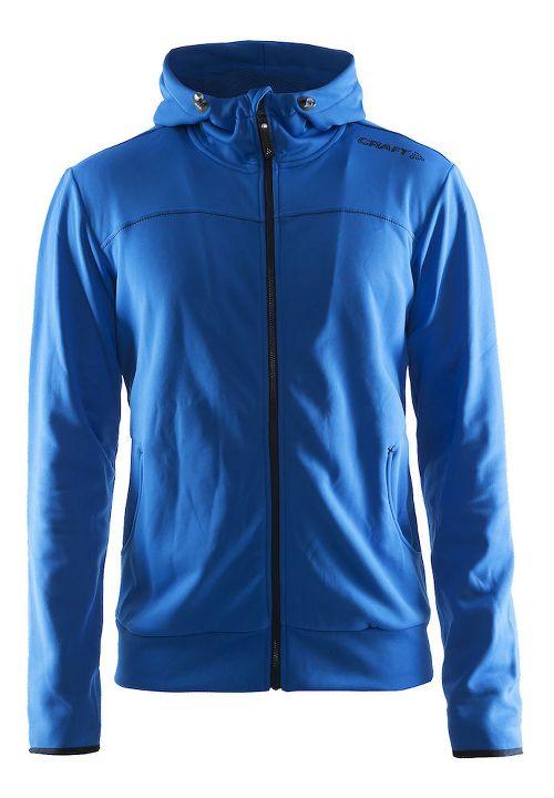 Mens Craft Leisure Full-Zip Hoodie & Sweatshirts Technical Tops - Sweden Blue M