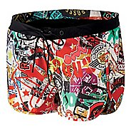 Womens Reebok CrossFit Woven Print Boardshort Unlined Shorts