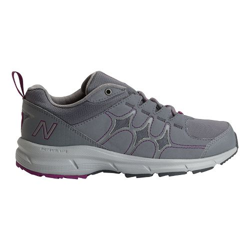 Womens New Balance 799 Walking Shoe - Grey/Magenta 6.5