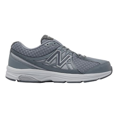 Mens New Balance 847v2 Walking Shoe - Grey/White 11.5