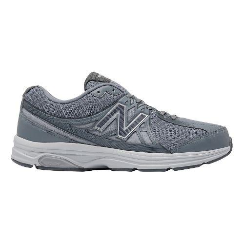 Mens New Balance 847v2 Walking Shoe - Grey/White 7.5