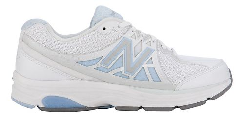 Womens New Balance 847v2 Walking Shoe - White/Frost 11