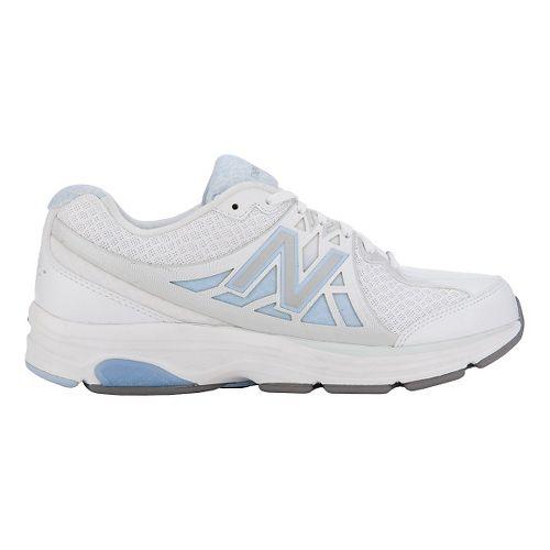 Womens New Balance 847v2 Walking Shoe - White/Frost 10.5