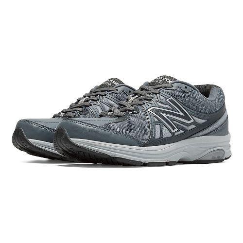 Womens New Balance 847v2 Walking Shoe - Lead/Silver Mink 12