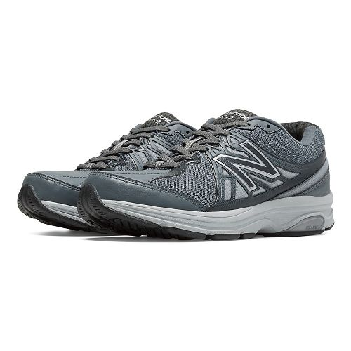 Womens New Balance 847v2 Walking Shoe - Lead/Silver Mink 7