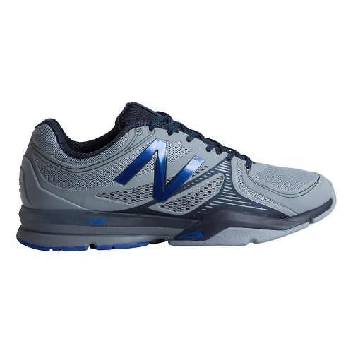 Mens New Balance 1267 Cross Training Shoe - Grey/Blue 8.5