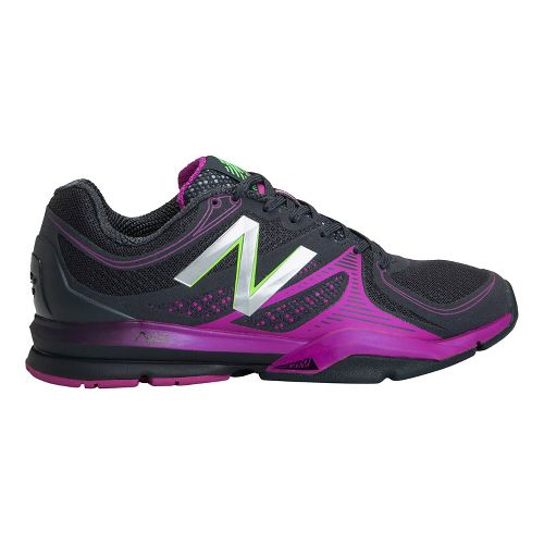 Womens New Balance 1267 Cross Training Shoe - Black/Pink 8.5
