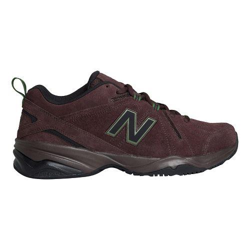 Mens New Balance 608v4 Cross Training Shoe - Brown 11.5