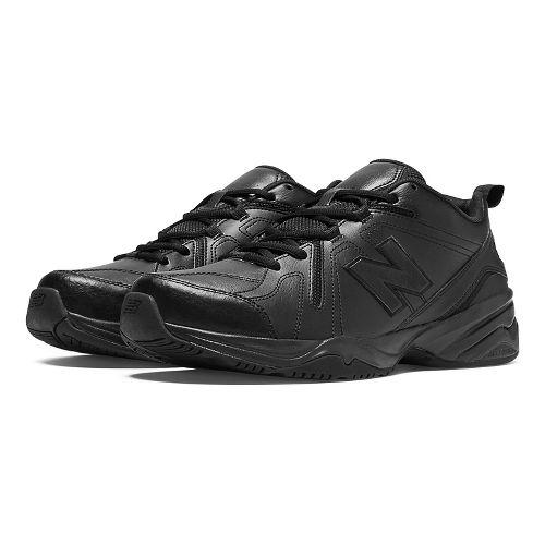 Mens New Balance 608v4 Cross Training Shoe - White/Navy 6.5