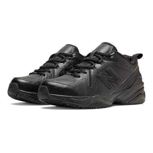 Womens New Balance 608v4 Cross Training Shoe - Black 8.5