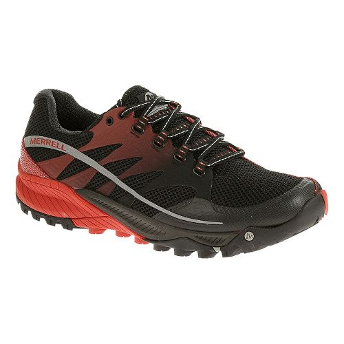 Mens Merrell All Out Charge Trail Running Shoe - Black 7