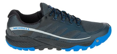 Mens Merrell All Out Charge Trail Running Shoe - Dark Slate 8