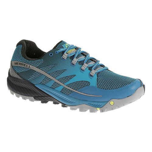 Mens Merrell All Out Charge Trail Running Shoe - Racer Blue 13