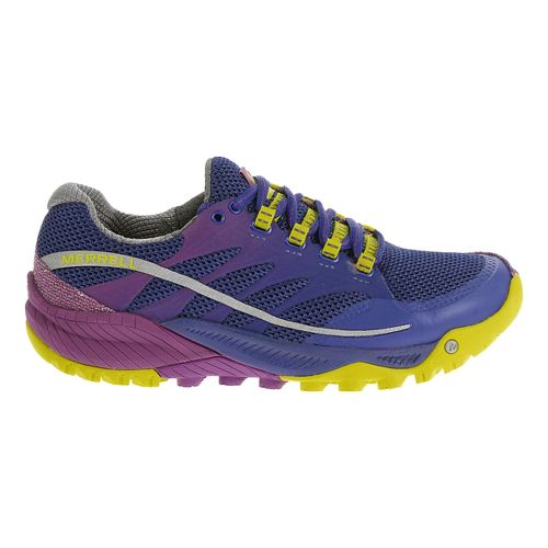 Womens Merrell All Out Charge Trail Running Shoe - Parachute Purple 6.5