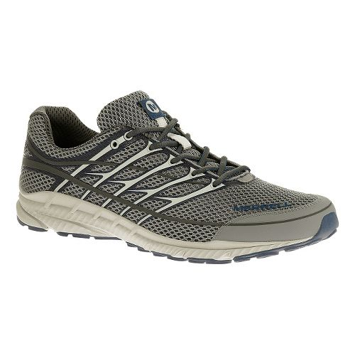 Mens Merrell Mix Master Move 2 Trail Running Shoe - Grey/Tahoe Blue 9
